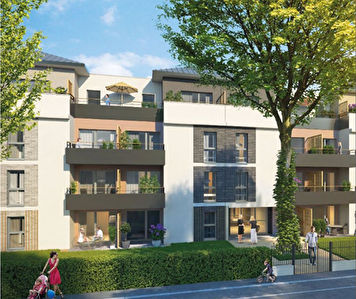 TOURS MAGINOT - T4  DE 90.84  m2 + PARKING + TERRASSE 41.46 M²